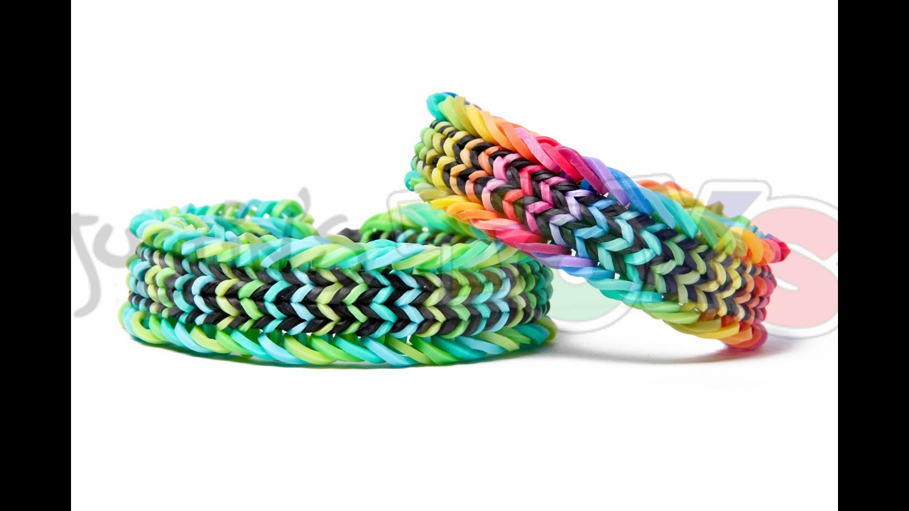 fish tail loom band instructions