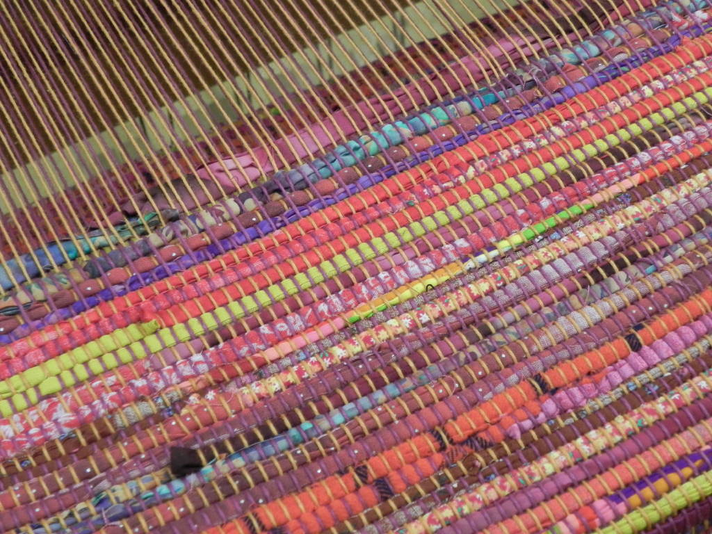 rag rug weaving instruction