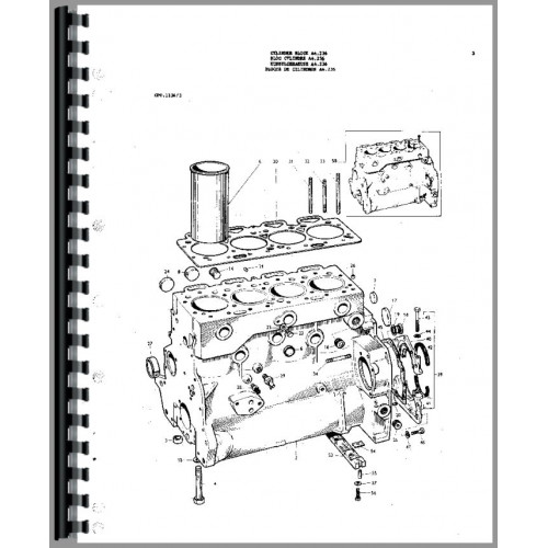 Massey ferguson 175 service manual