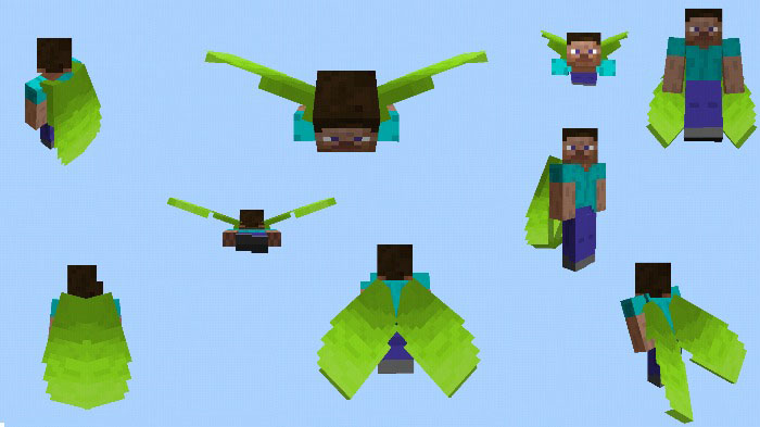 Minecraft how to change the color of the elytra