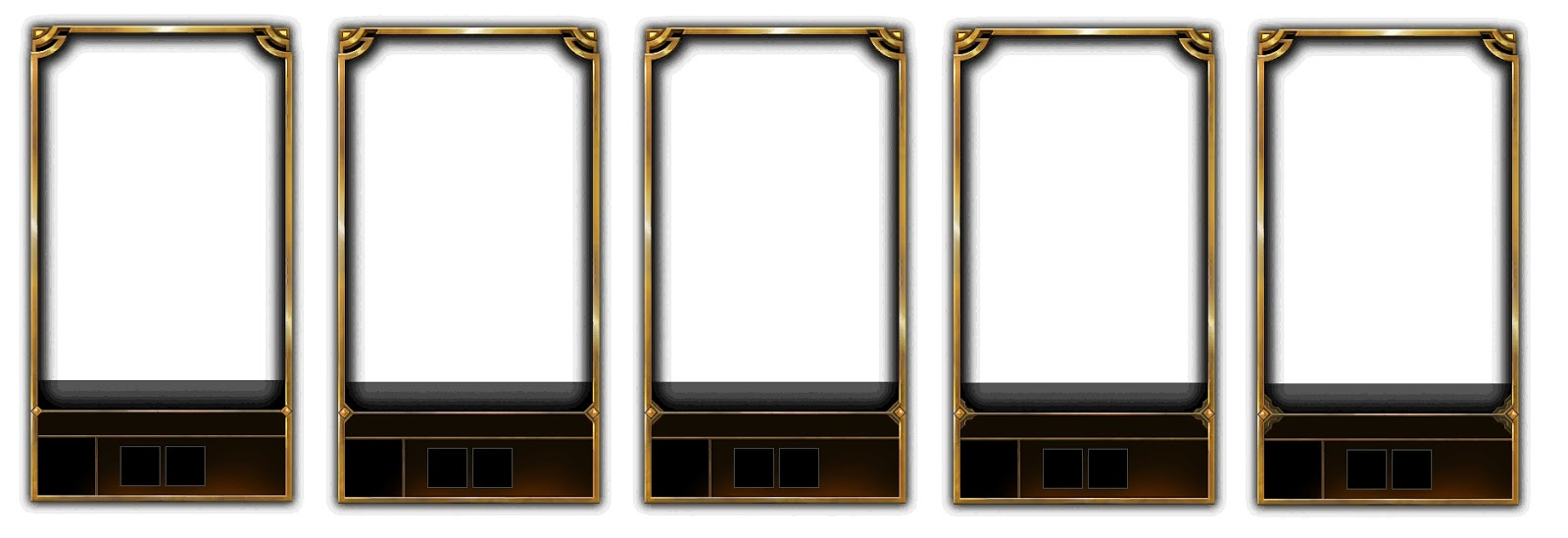 Lol how to get gold frame