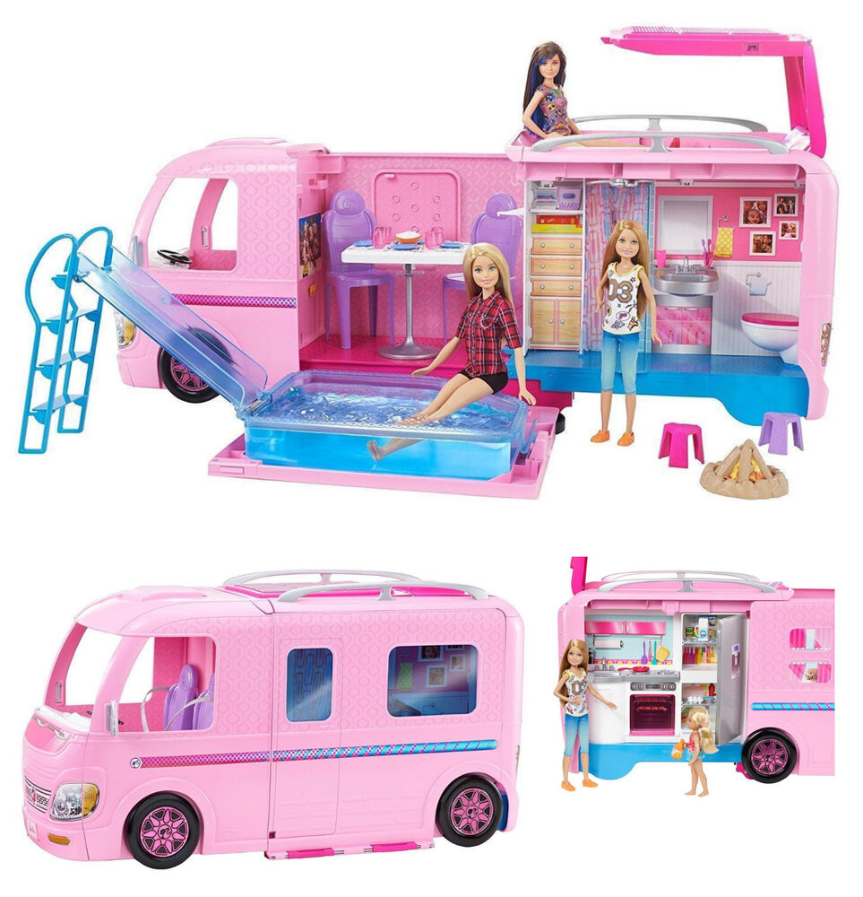 barbie dream camper instructions