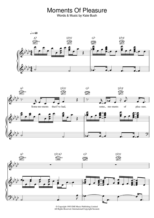 Wuthering heights piano sheet music pdf