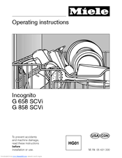 Miele dishwasher service manual pdf