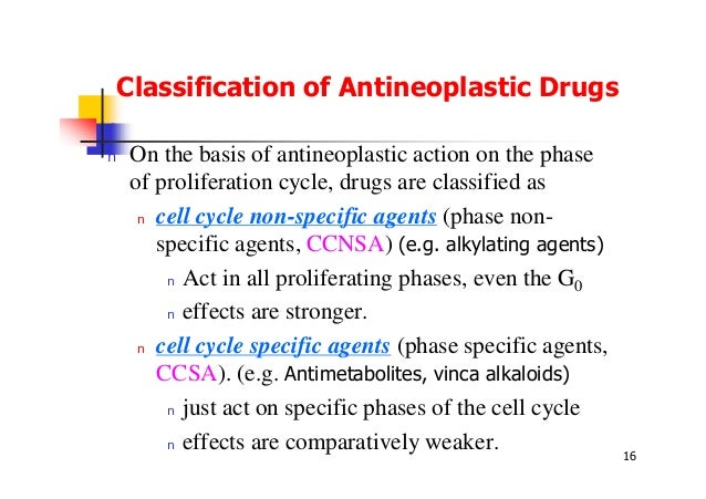 Classification of cytotoxic drugs pdf