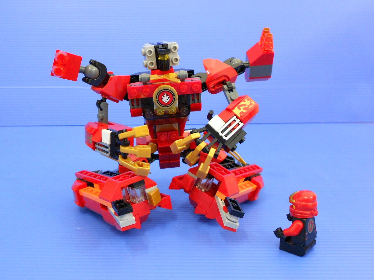lego ninjago instructions kai
