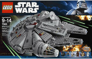 lego star wars millennium falcon 7965 instructions