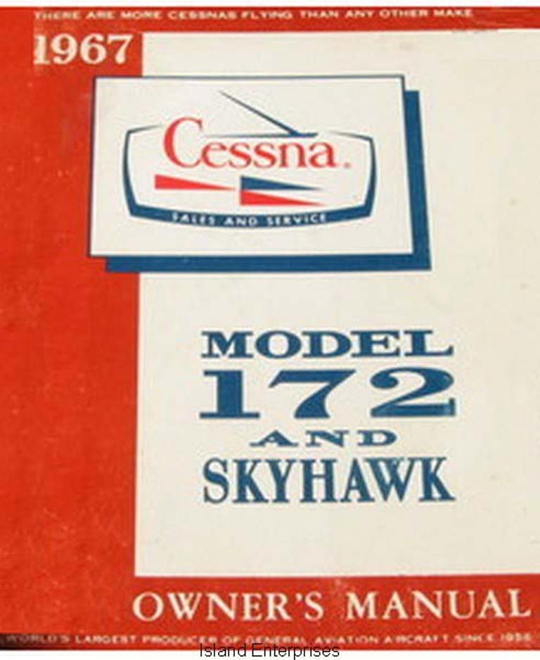 cessna 172 owners manual pilot operating handbook