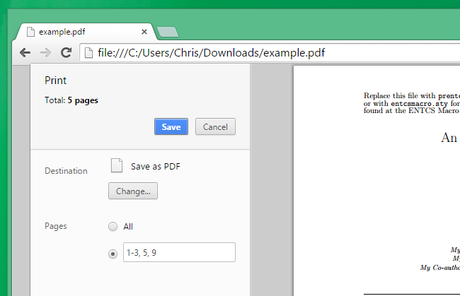 Why doent chrome open up pdf files
