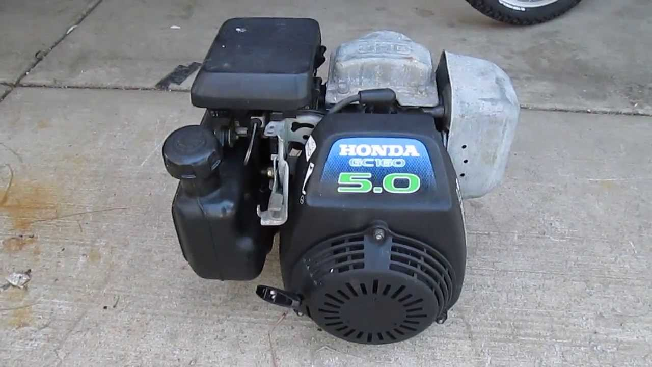 honda gc160 5.0 generator manual
