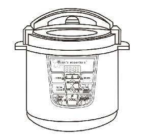 basic essentials pressure cooker manual