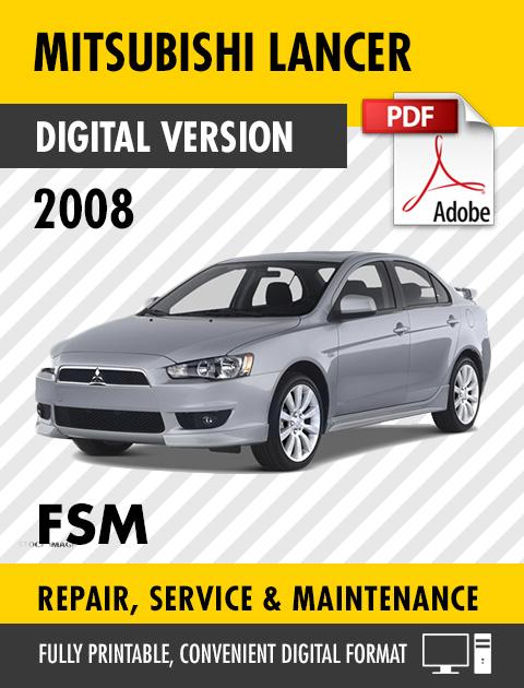 mitsubishi lancer service manual pdf