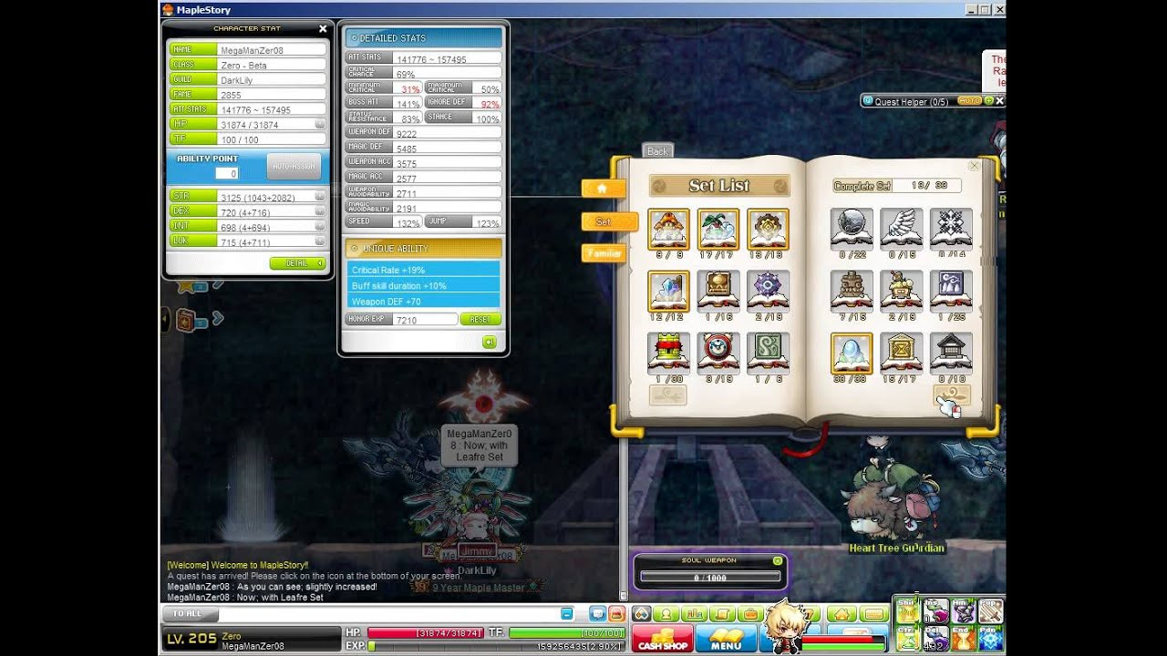 Maplestory how to open crusader codex