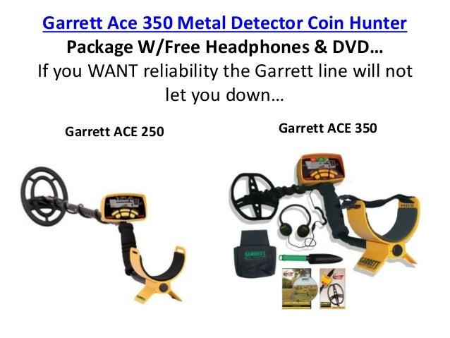 garrett ace 250 metal detector manual