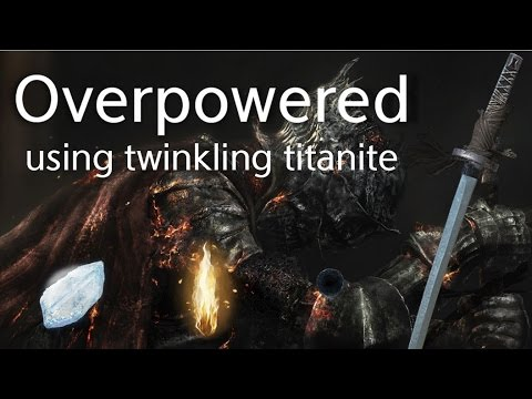 Dark souls 2 how to get twinkling titanite early
