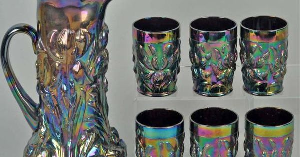 Carnival glass identification price guide