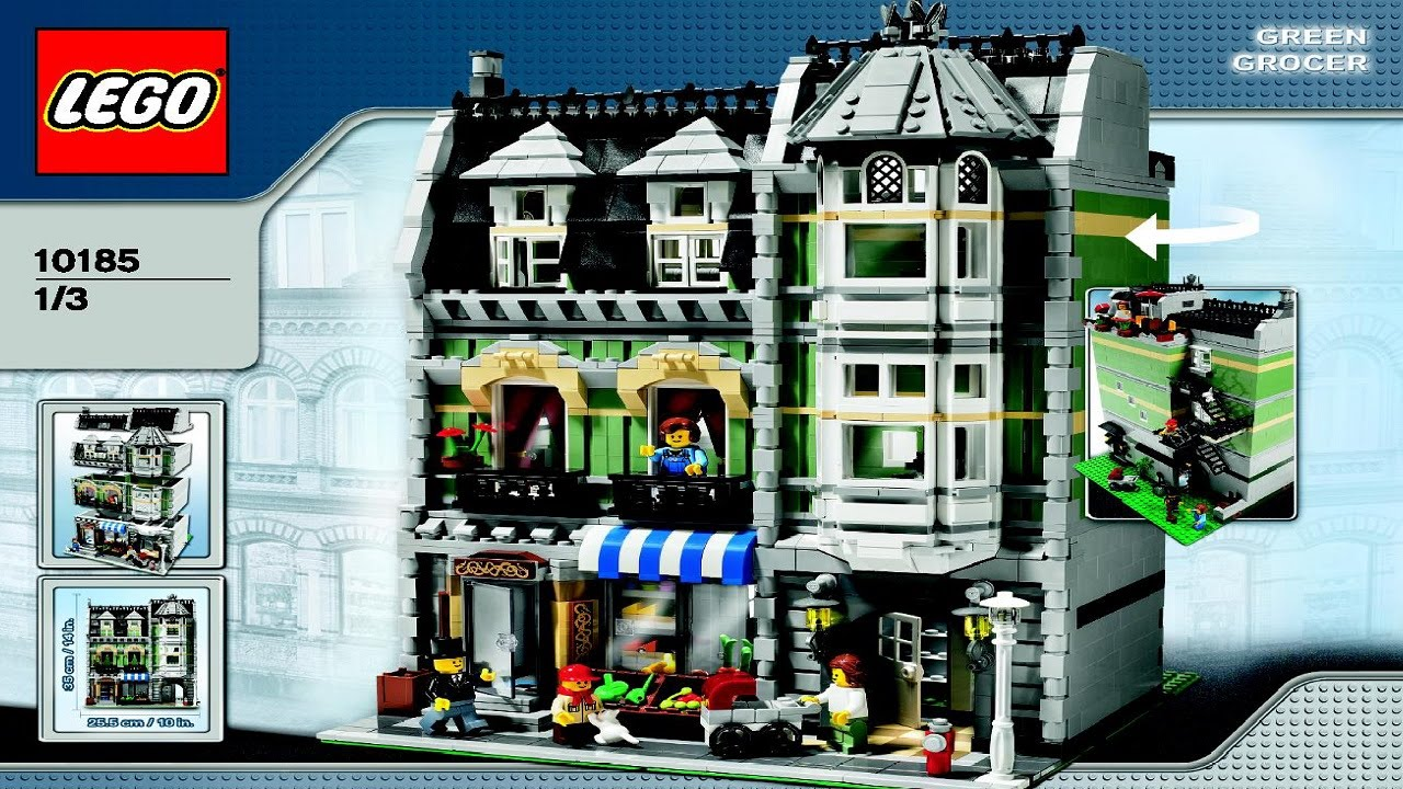 Lego green grocer instructions