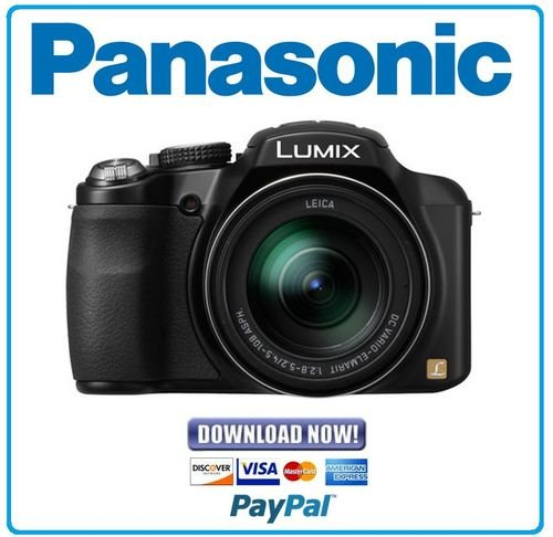 panasonic lumix dmc-fz60 owners manual