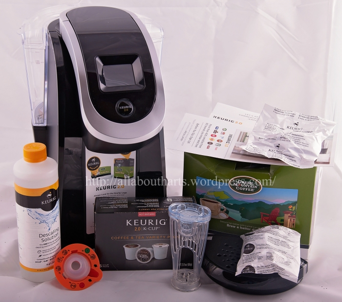 keurig 2.0 k250 manual
