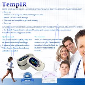 tempir pulse oximeter instructions