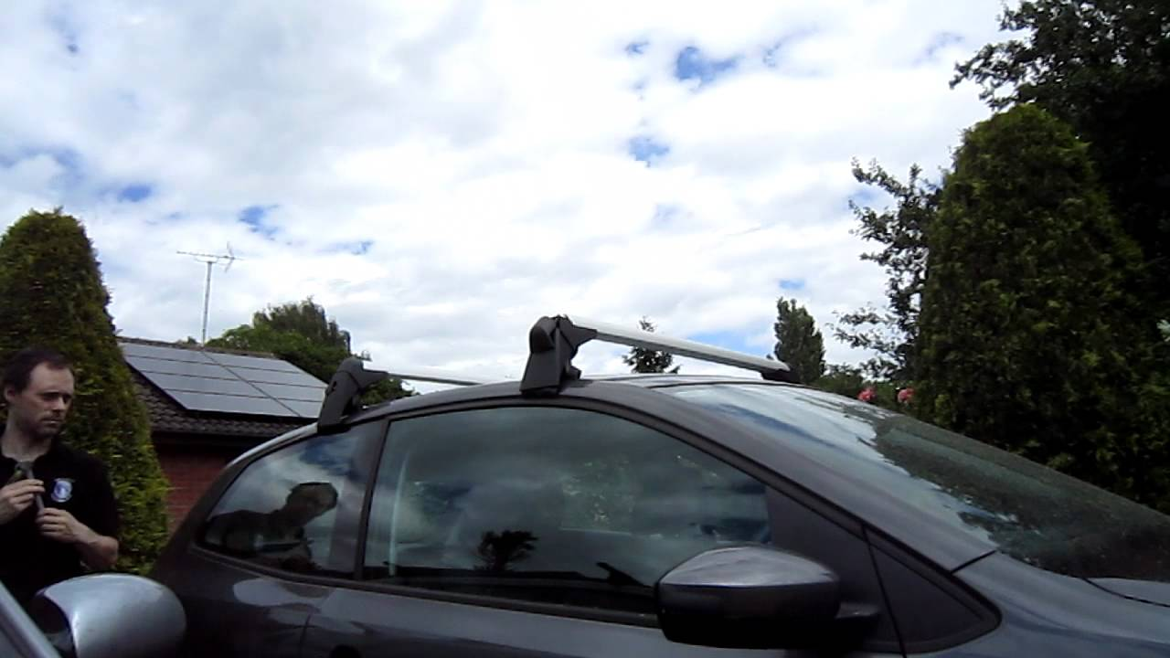 ford mondeo roof bars fitting instructions