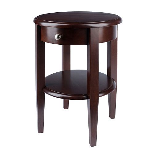 winsome accent table instructions