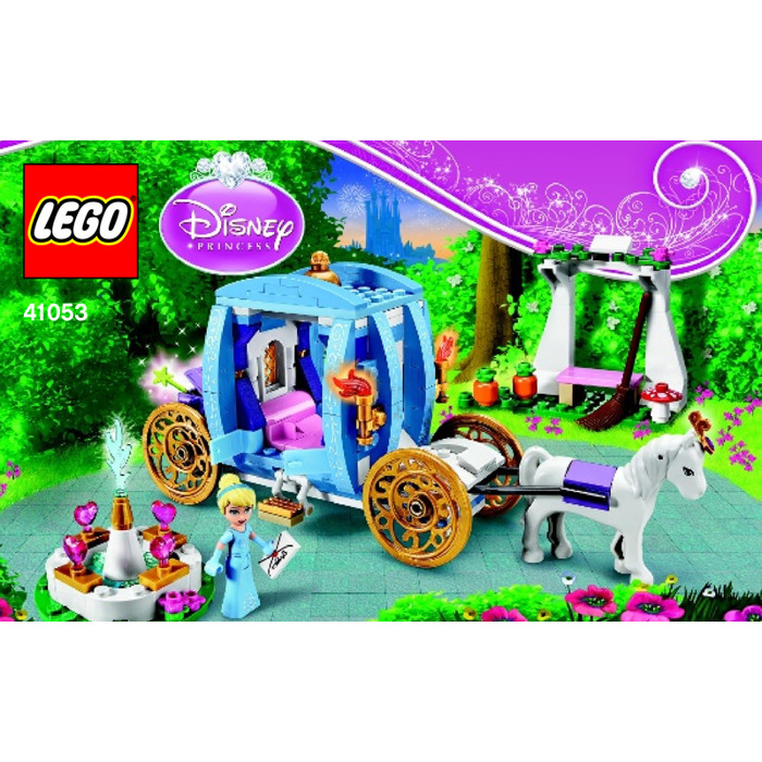 cinderella lego carriage instructions