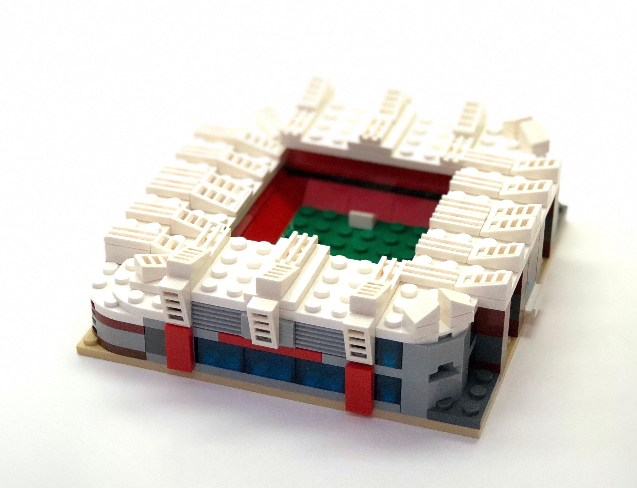 Lego old trafford instructions