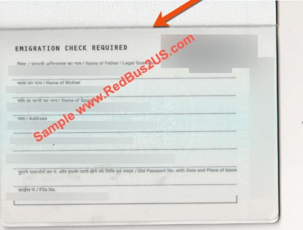 Passport application what does signed at mean