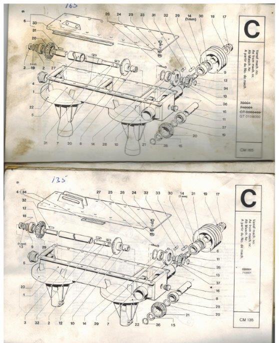 Pz 165 mower parts manual