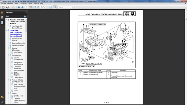 2004 yamaha kodiak 400 manual