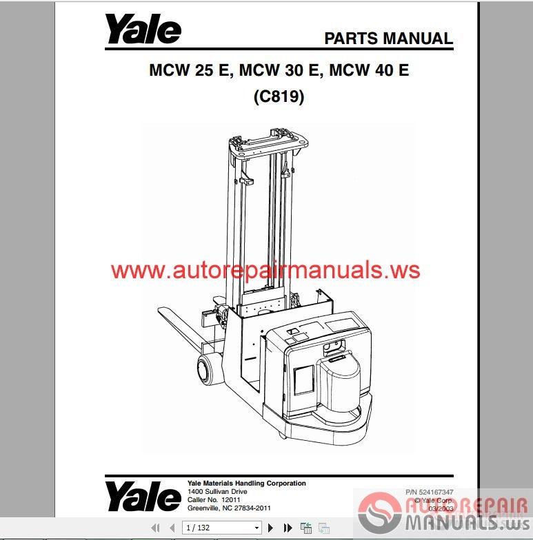 Yale forklift manual pdf free
