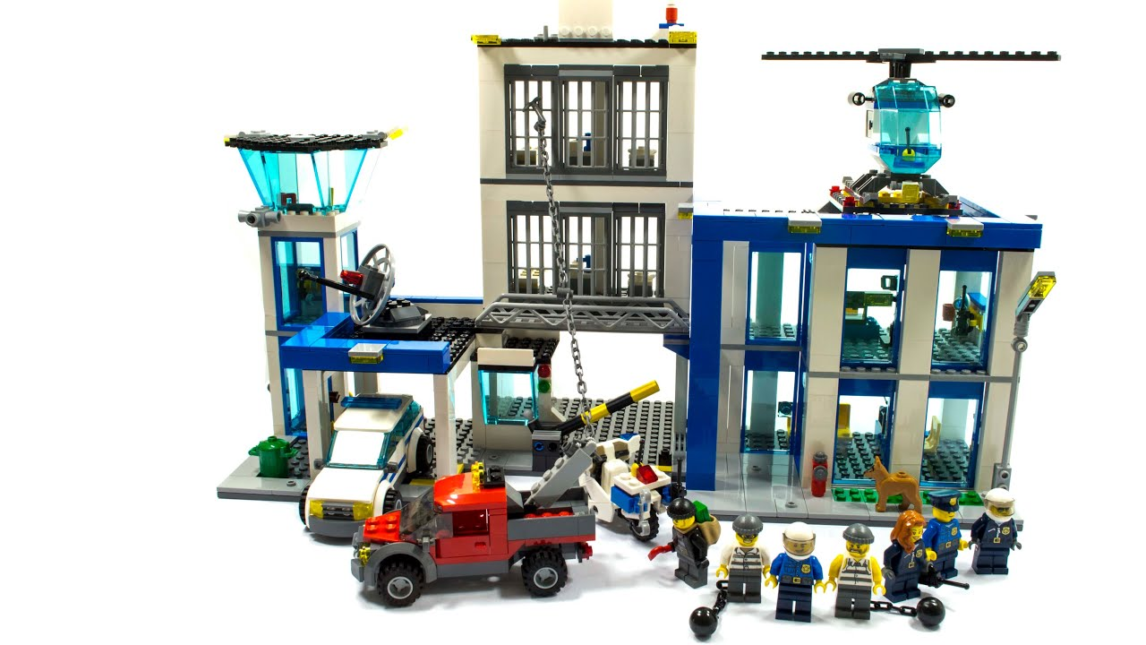 lego city police station building instructions 60047