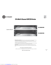 Crown cts 4200 service manual