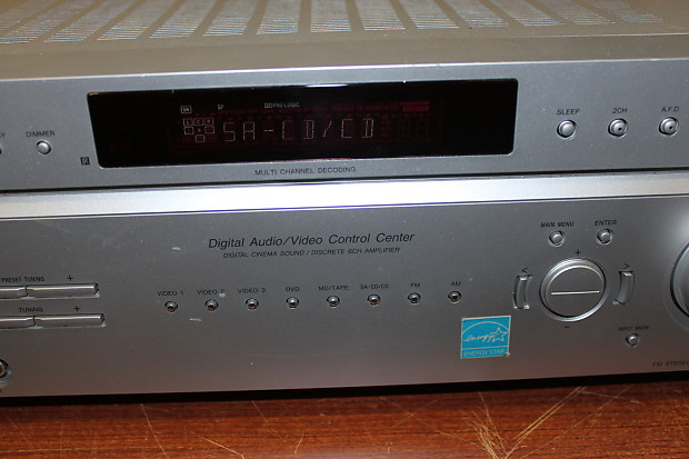 sony digital audio video control center manual