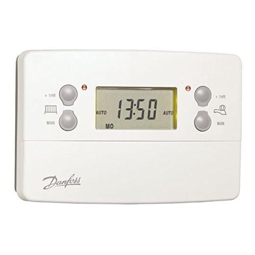 danfoss central heating programmer instructions
