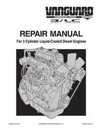 Briggs and stratton vanguard engine manual