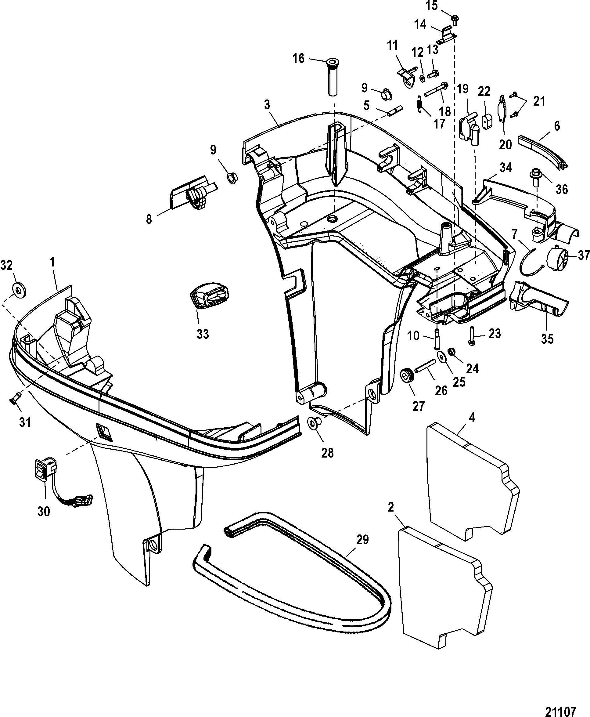 mercury optimax 225 parts manual