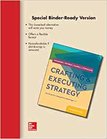 Crafting and executing strategy 19th edition pdf