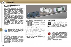 Peugeot 407 owners manual 2007 pdf