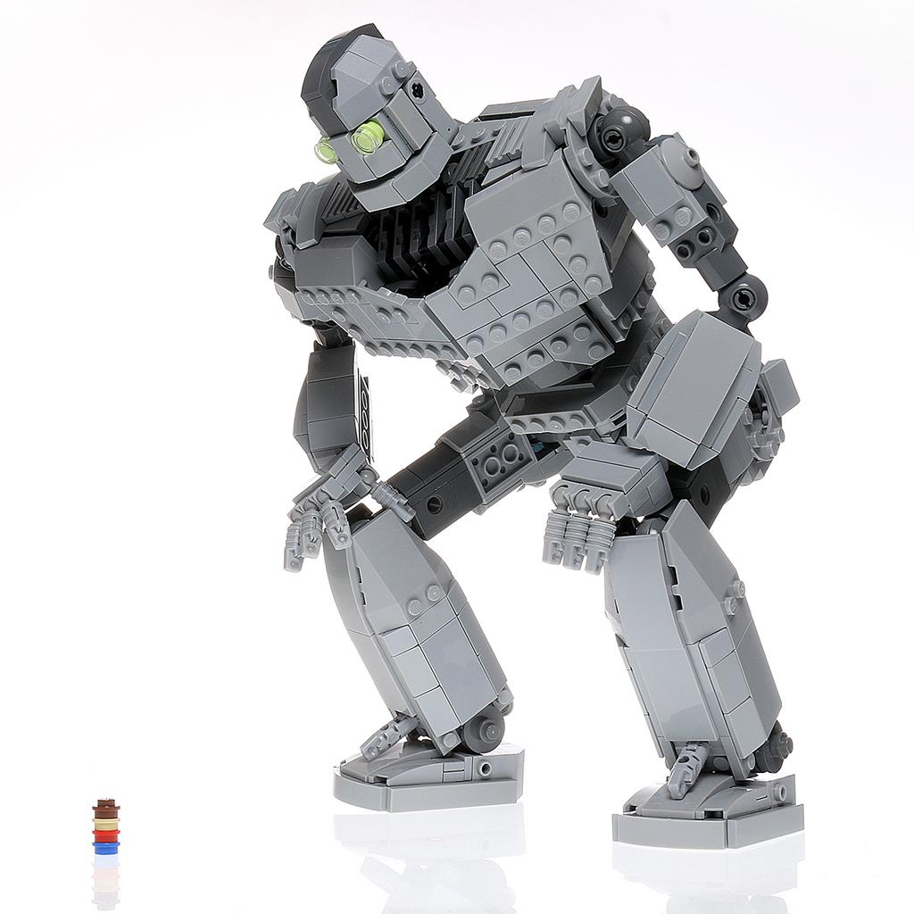 custom lego mech instructions