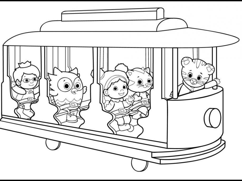 Daniel tiger coloring pages pdf