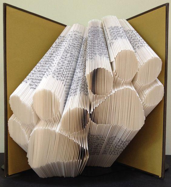 Folded book art instructions free