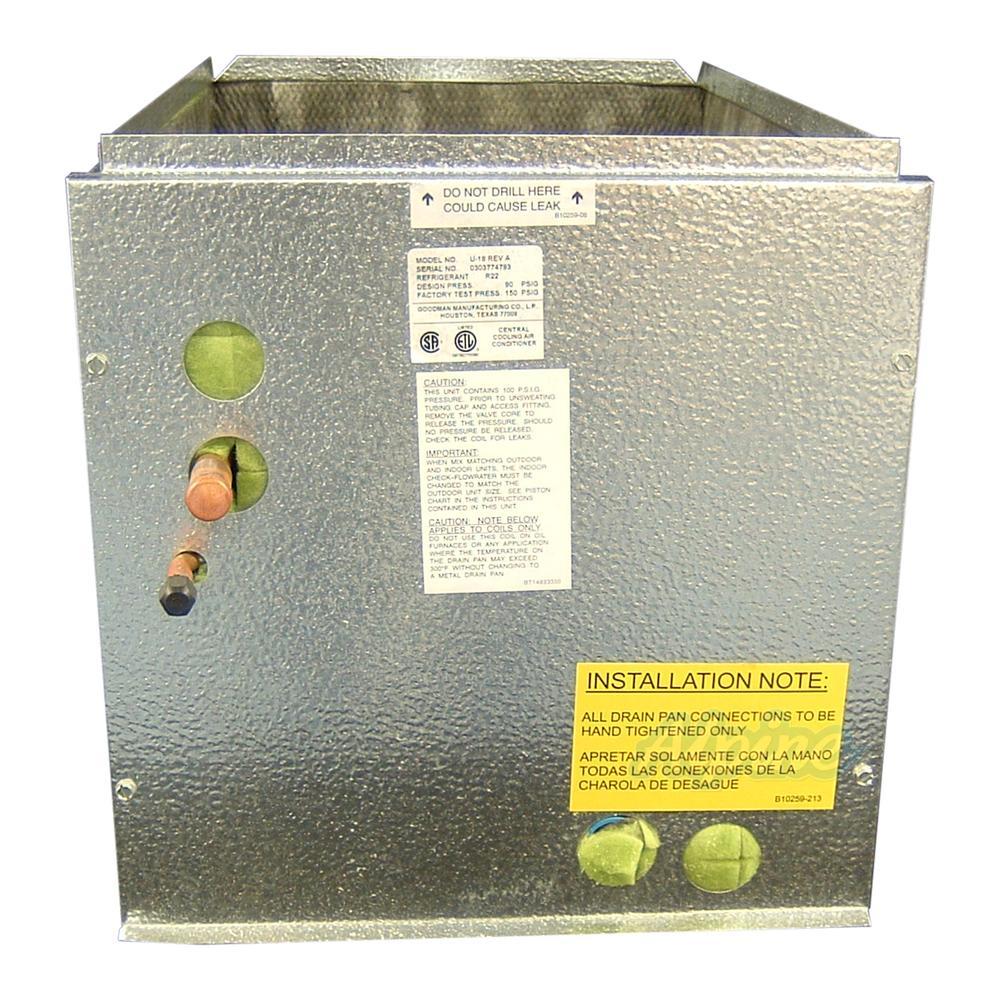 goodman evaporator coil installation instructions