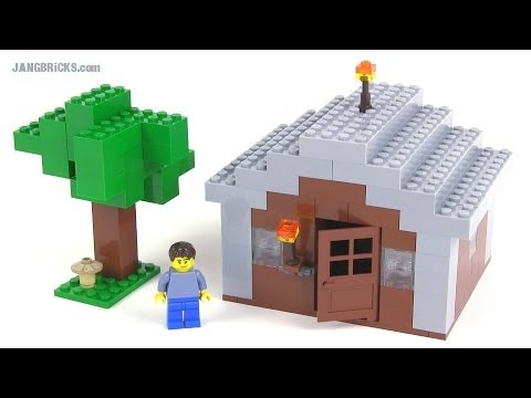 mini lego minecraft instructions