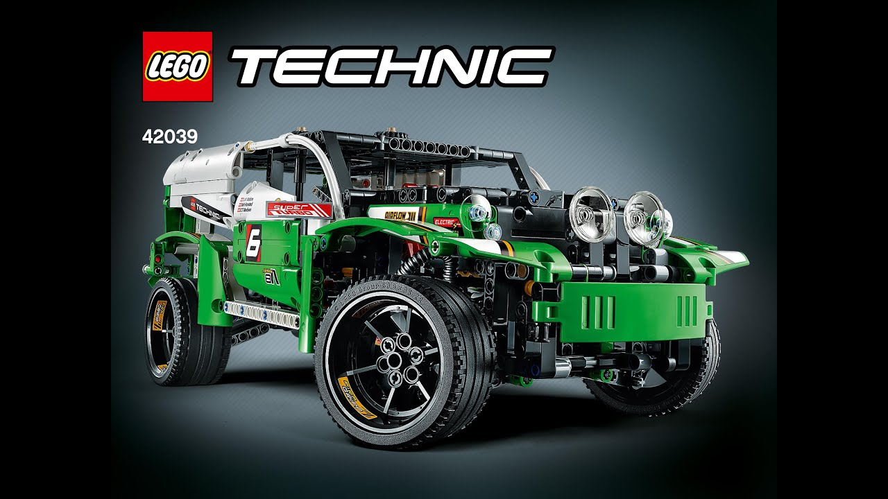 Lego technic race car instructions