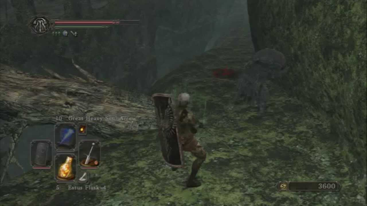 Dark souls 2 how to get to ornifex