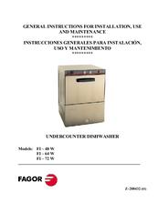 fagor fi 48w service manual