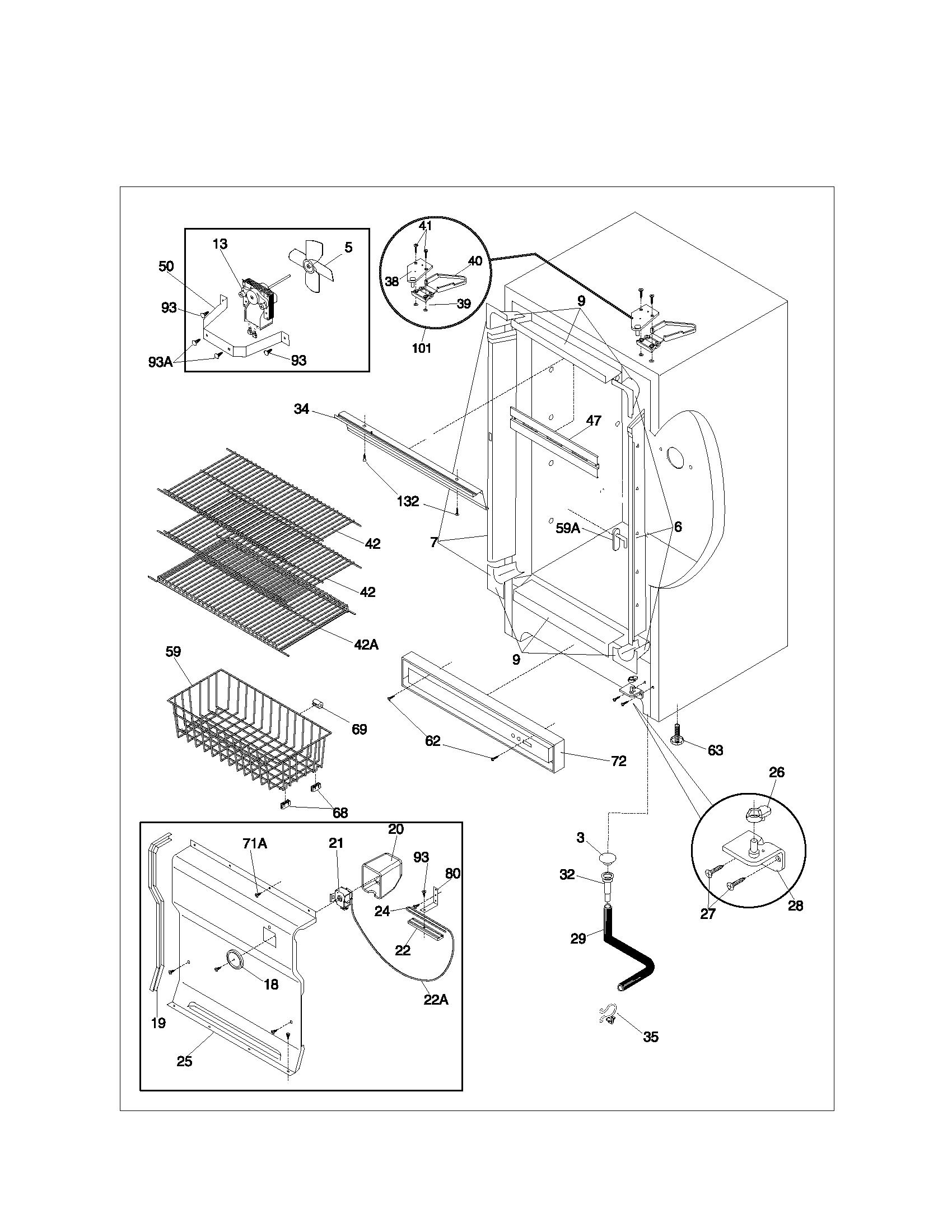 kenmore upright freezer repair manual