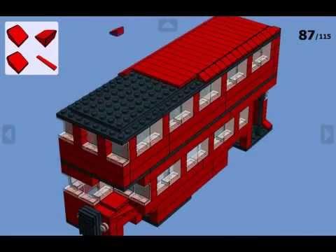 Lego london bus instructions